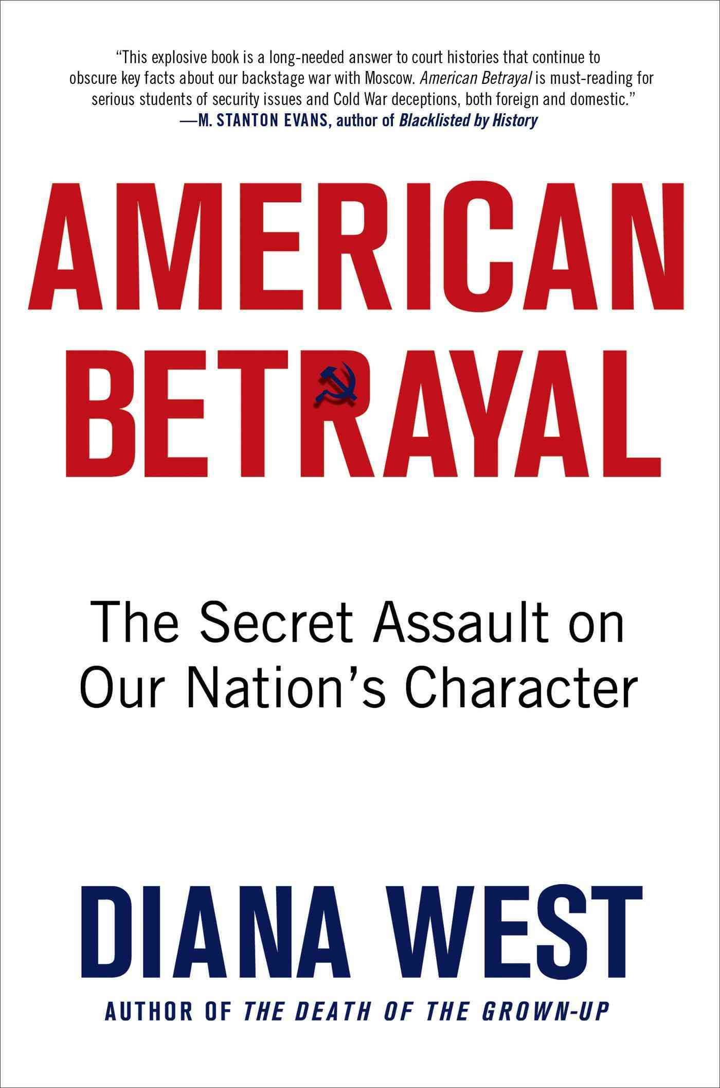 American Betrayal By West, Diana
